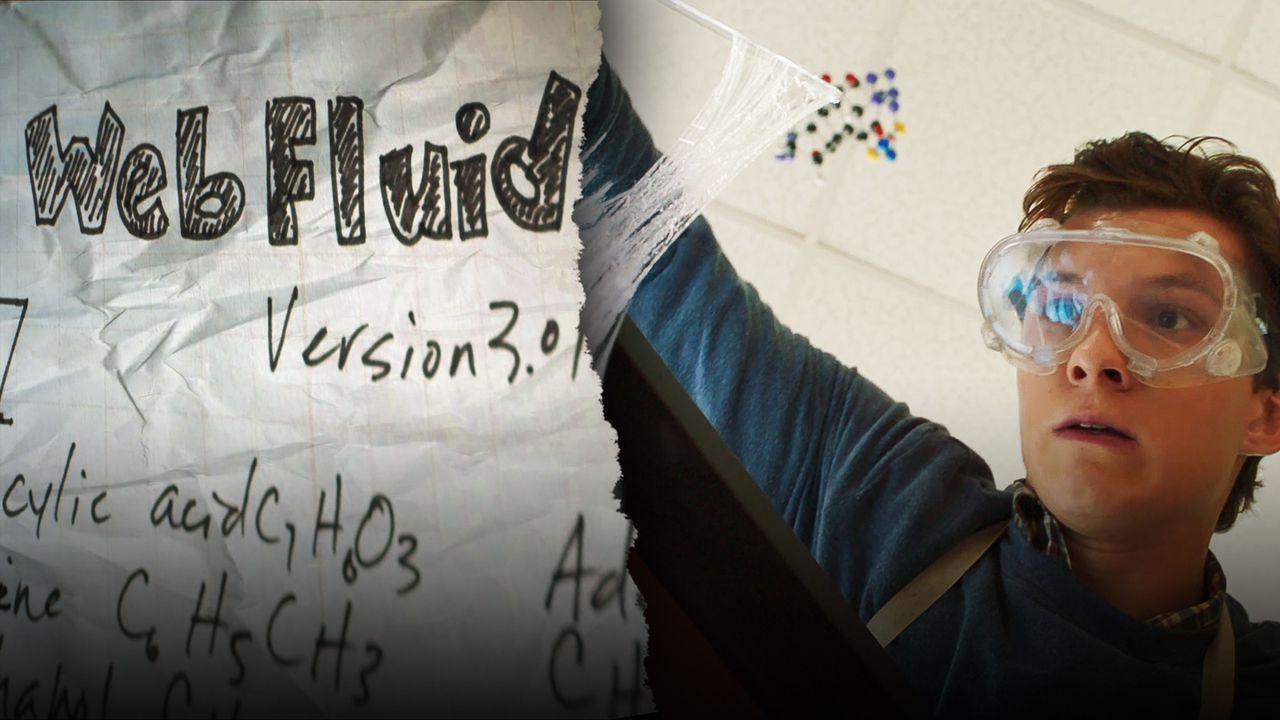 Web Fluid Notes, Peter Parker