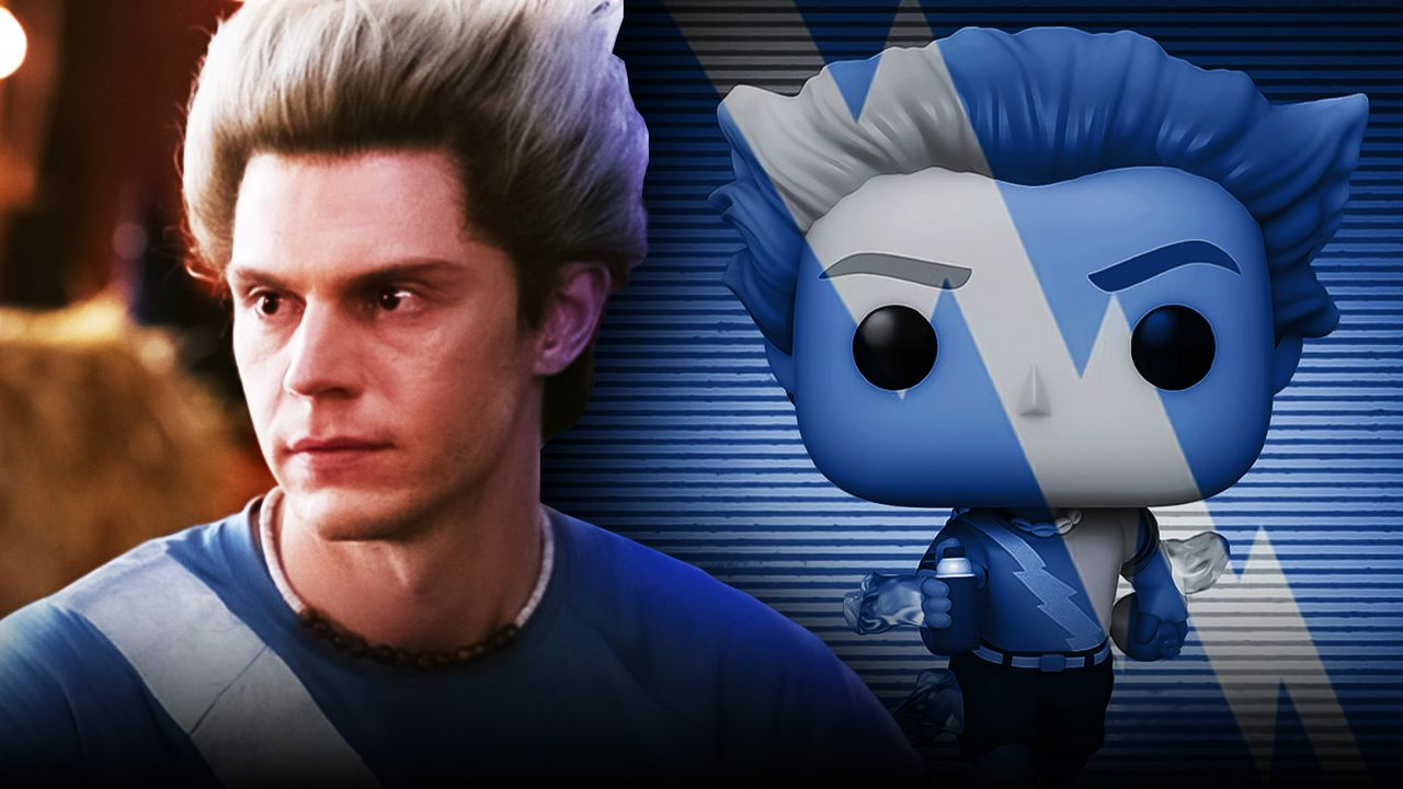 Evan Peters as Pietro, Pietro Maximoff Funko figure