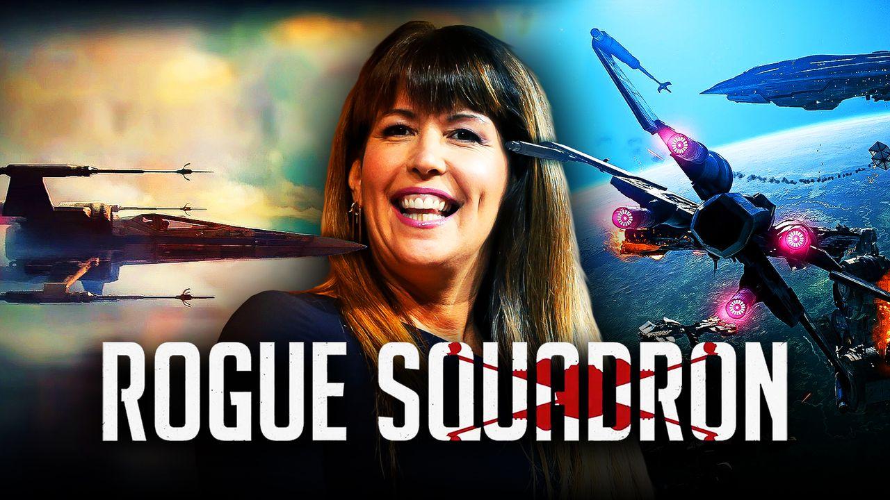 Patty Jenkins Star Wars Rogue Squadron