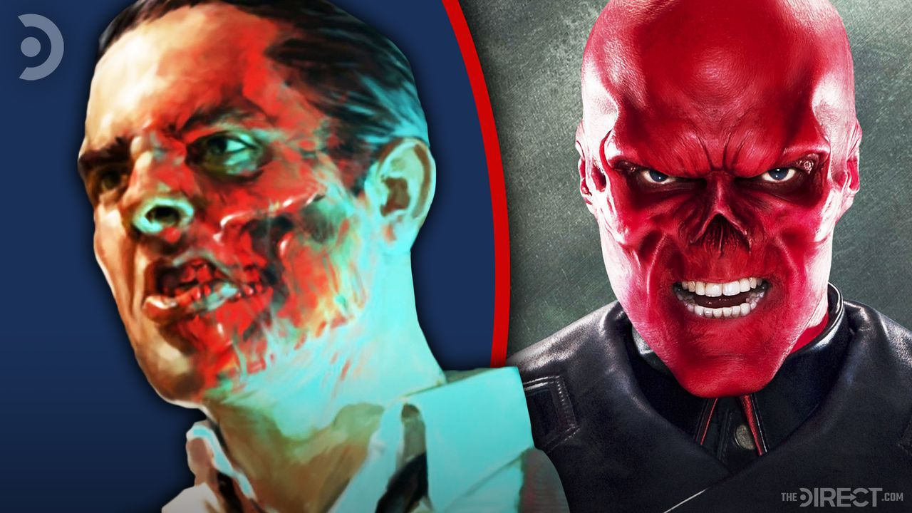Red Skull and Johann Schmidt