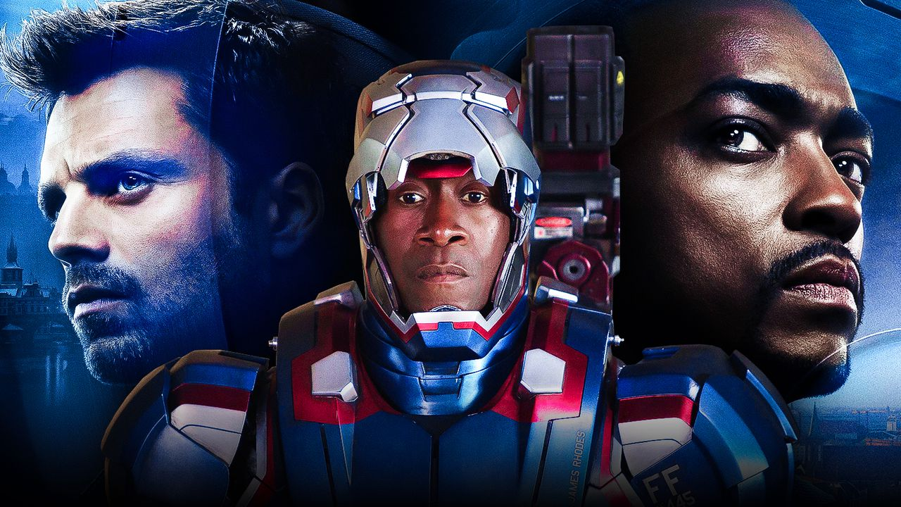 Bucky Barnes, Don Cheadle as War Machine, Sam Wilson