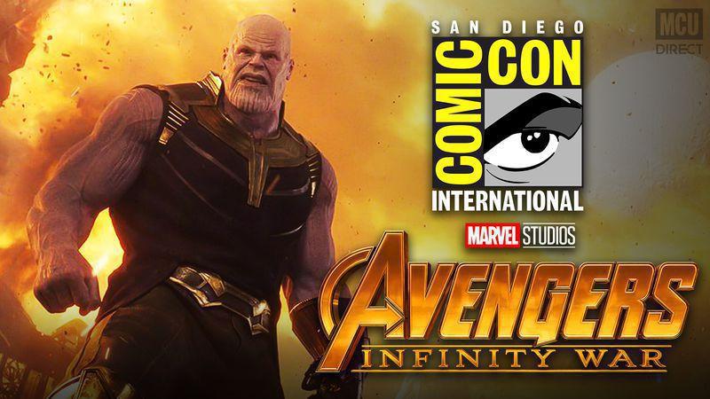 Thanos Infinity War SDCC