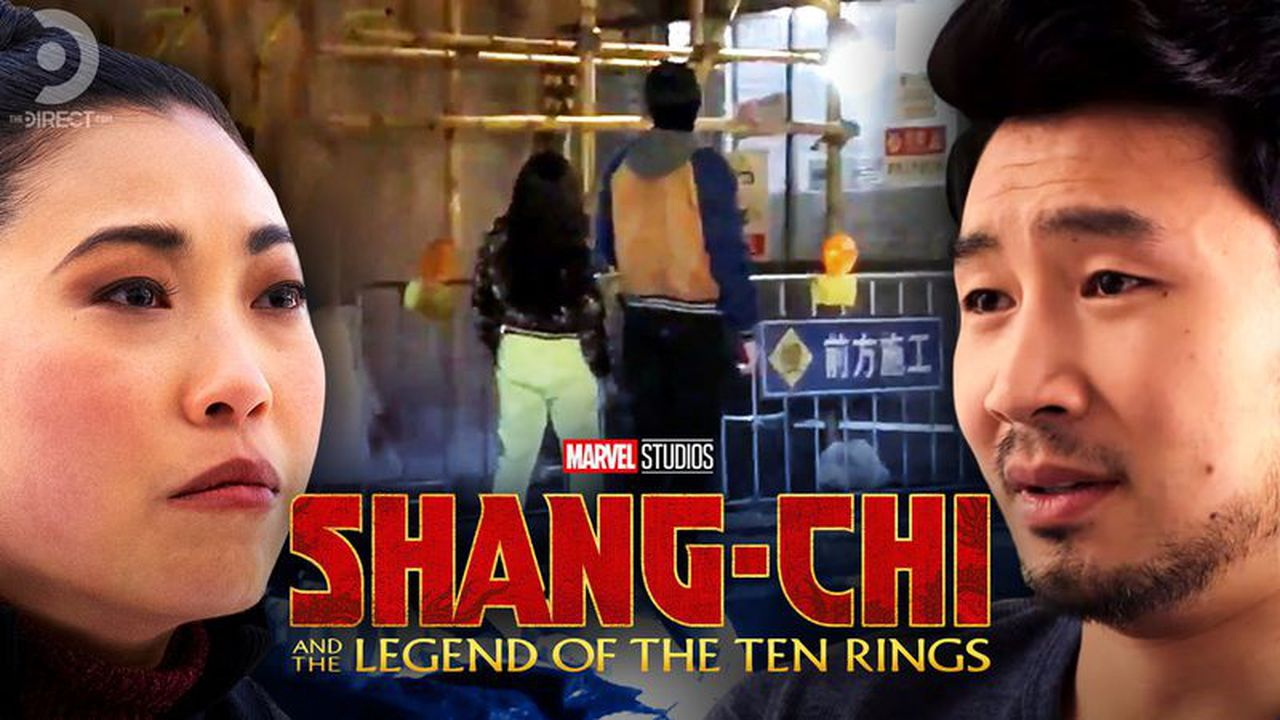 Simu Lui's Shang-Chi and Awkwafina showcased in new set footage