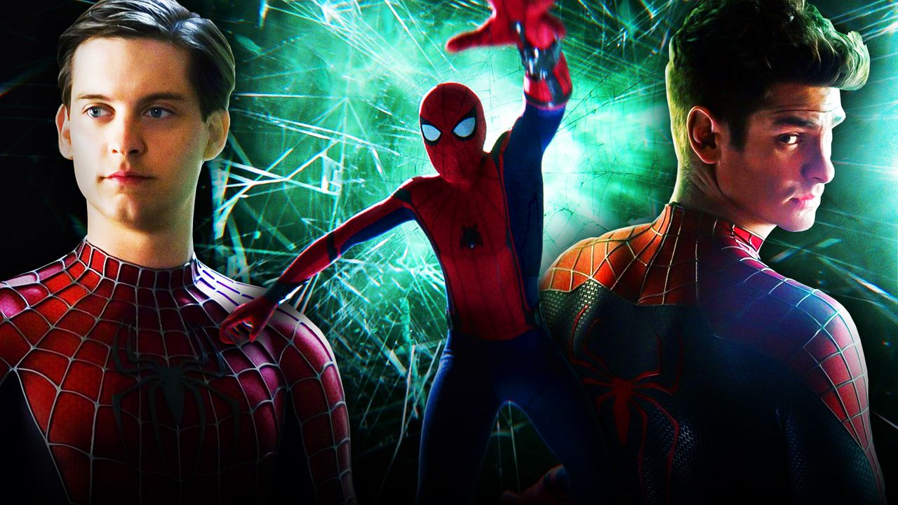 Andrew Garfield, Tobey Maguire, Spider-Man