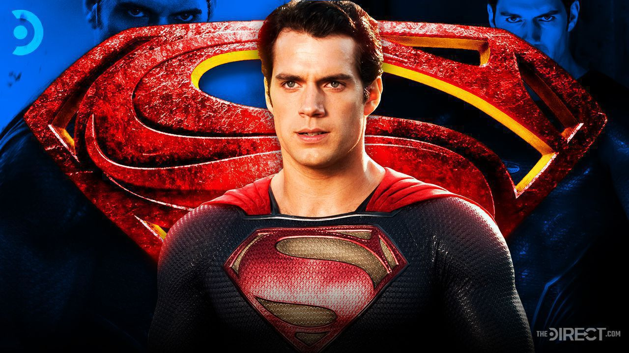 Henry Cavill as Superman, Superman Logo