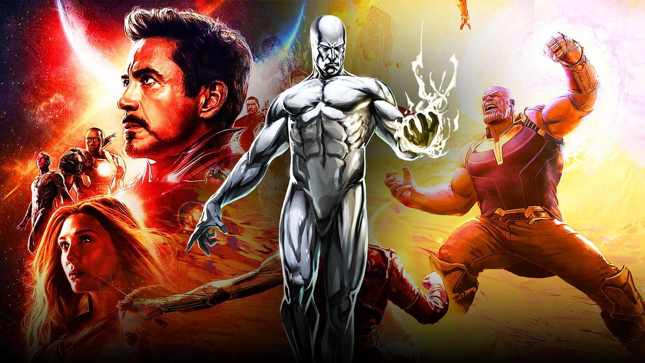 Silver Surfer Avengers