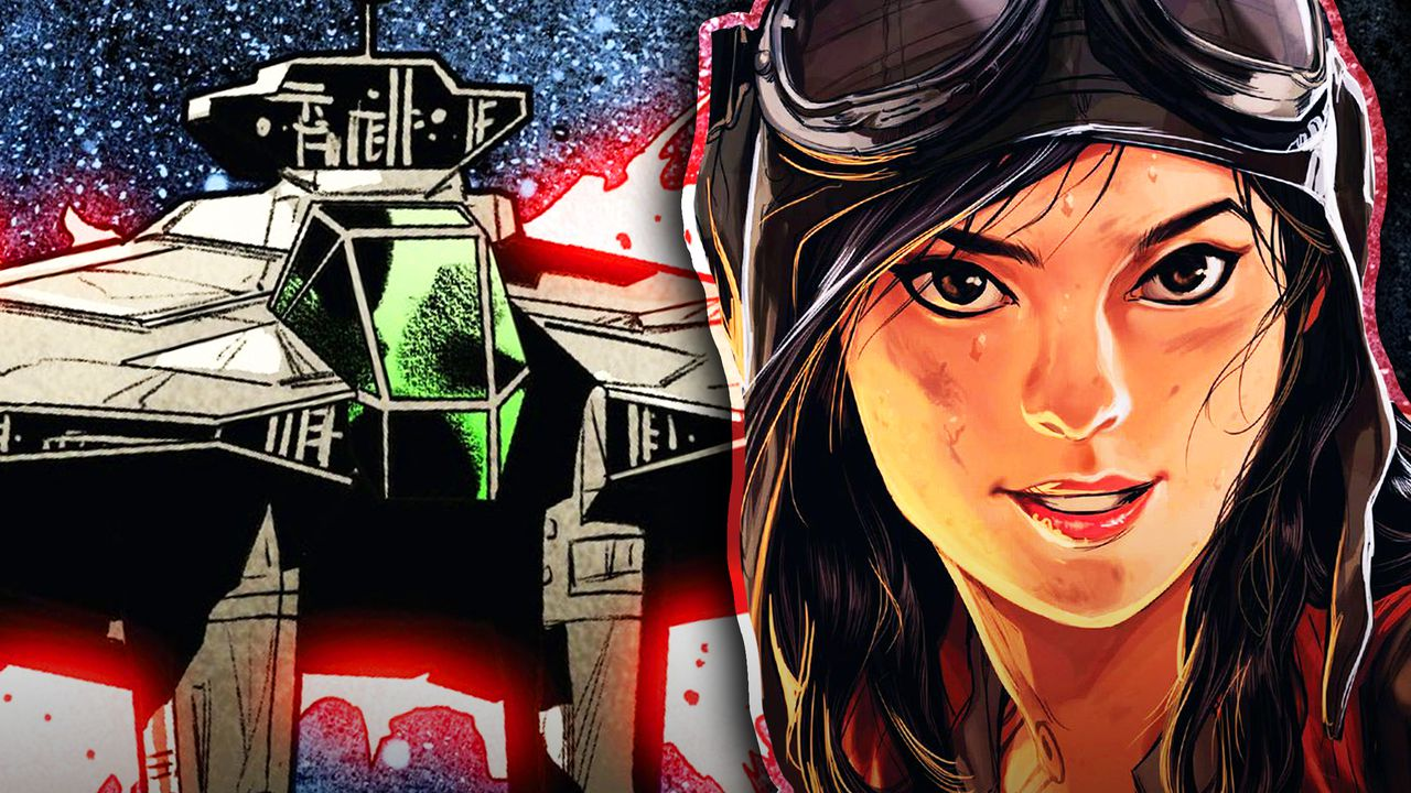 Star Wars' Doctor Aphra and Spaceship