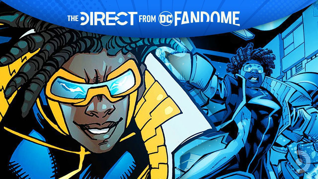 Static Shock from the comics