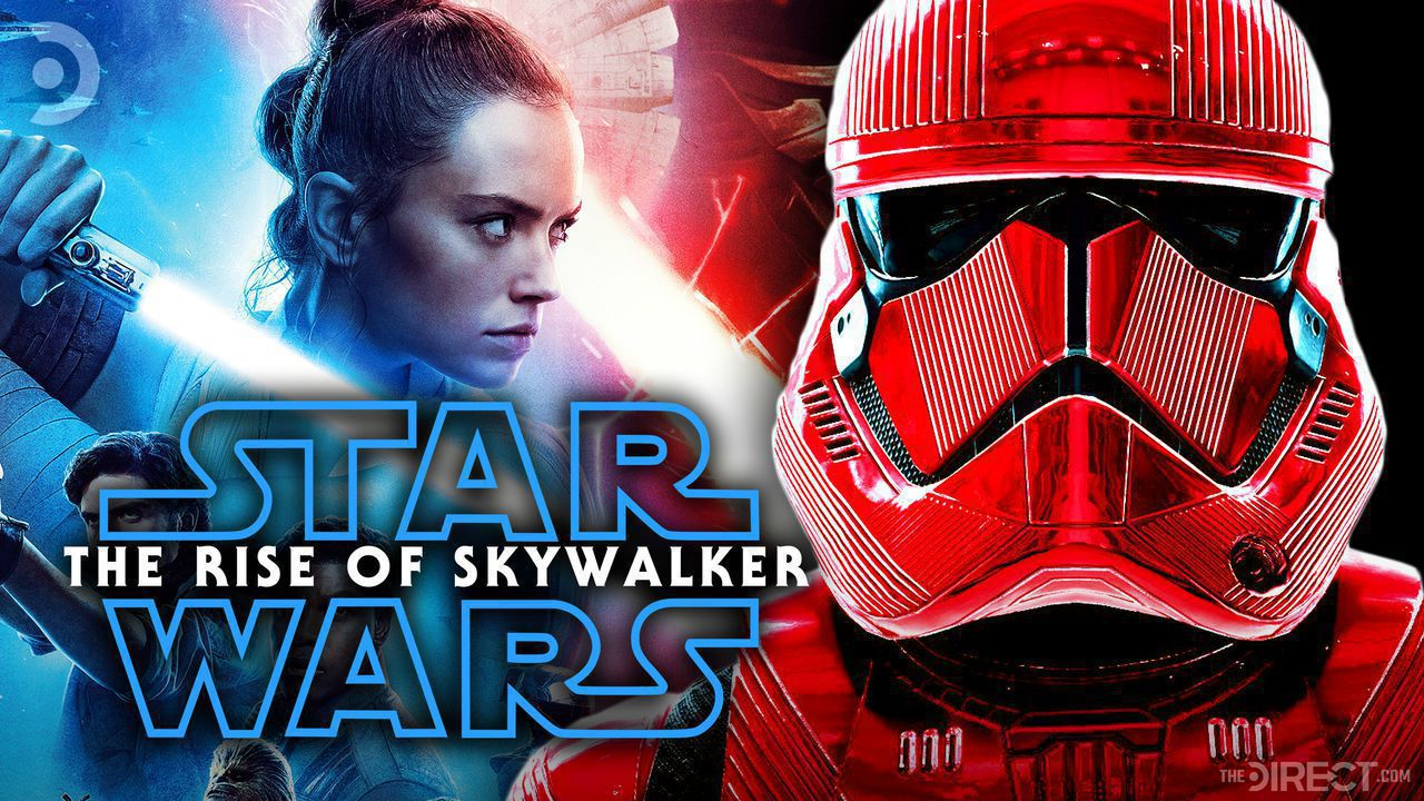 Rise of Skywalker Poster and Sith Trooper