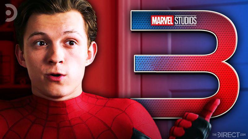 Tom Holland as Spider-Man, Spider-Man 3 Logo