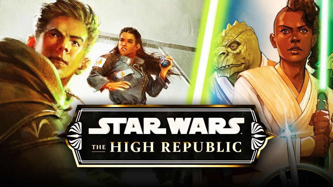 The High Republic logo, Jedi Knights
