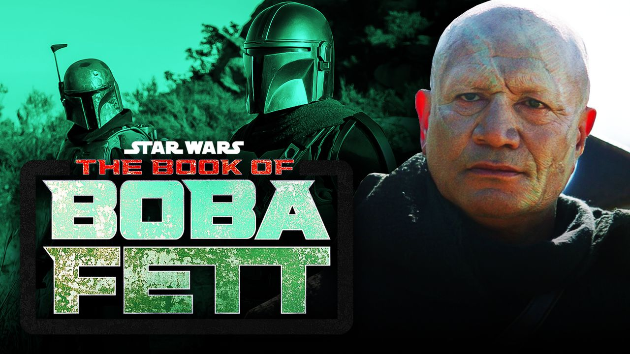 Boba Fett Actor The Book of Boba Fett logo