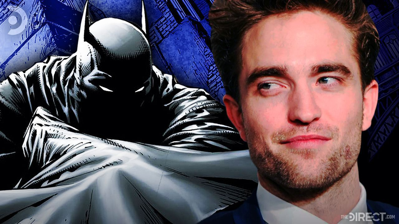 Comic version of Batman, Image of Robert Pattinson