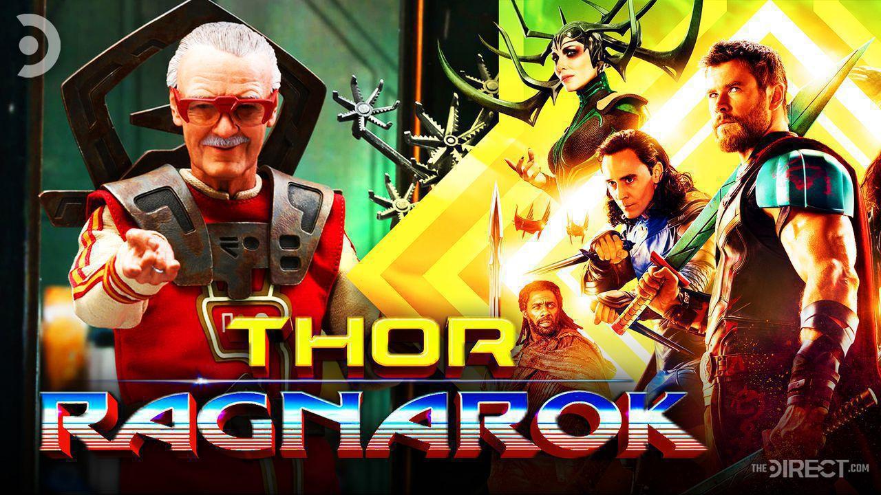 Stan Lee Hot Toys Figure, Thor Ragnarok Logo, Thor, Heimdall, Loki, Hela