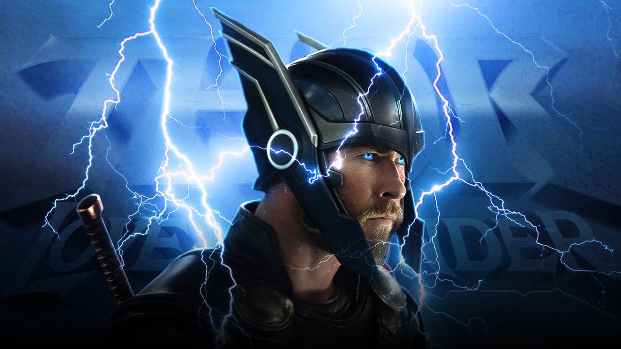 Thor from Thor: Ragnarok, lightning