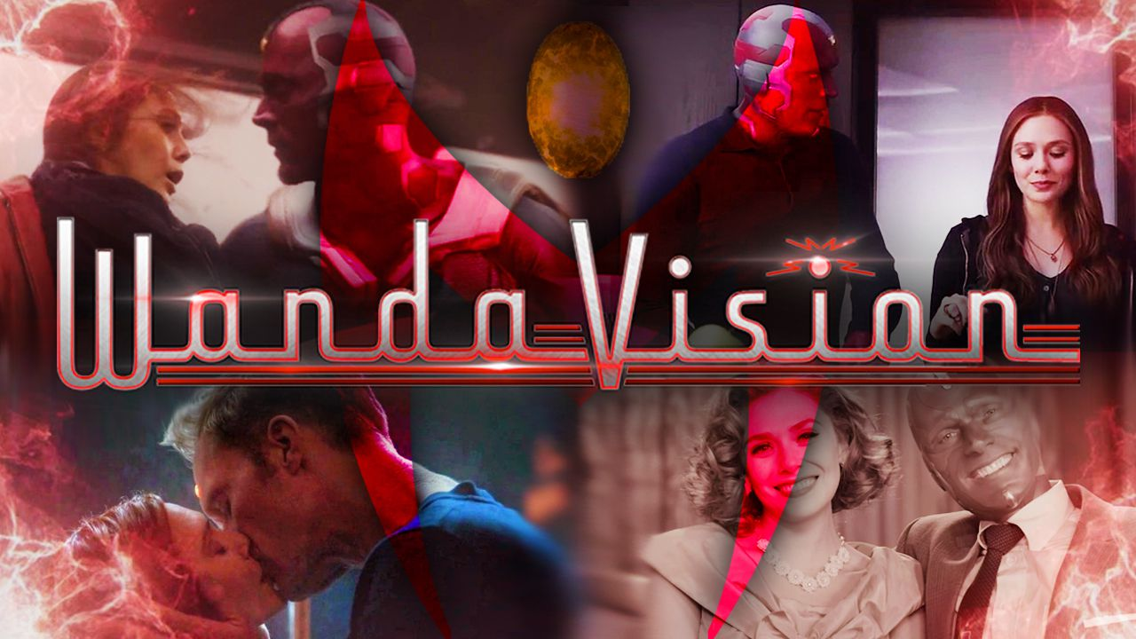 WandaVision, Vision, Scarlet Witch, MCU, Marvel