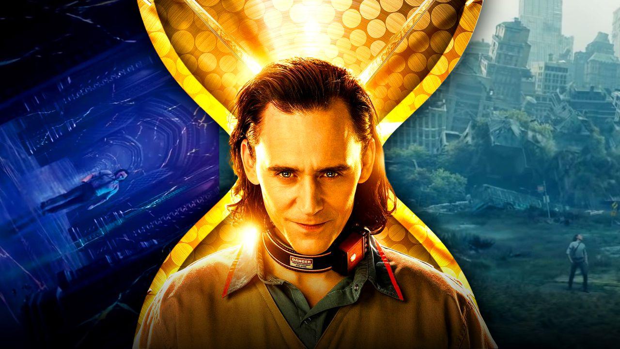 Loki Tom Hiddleston Time Hourglass