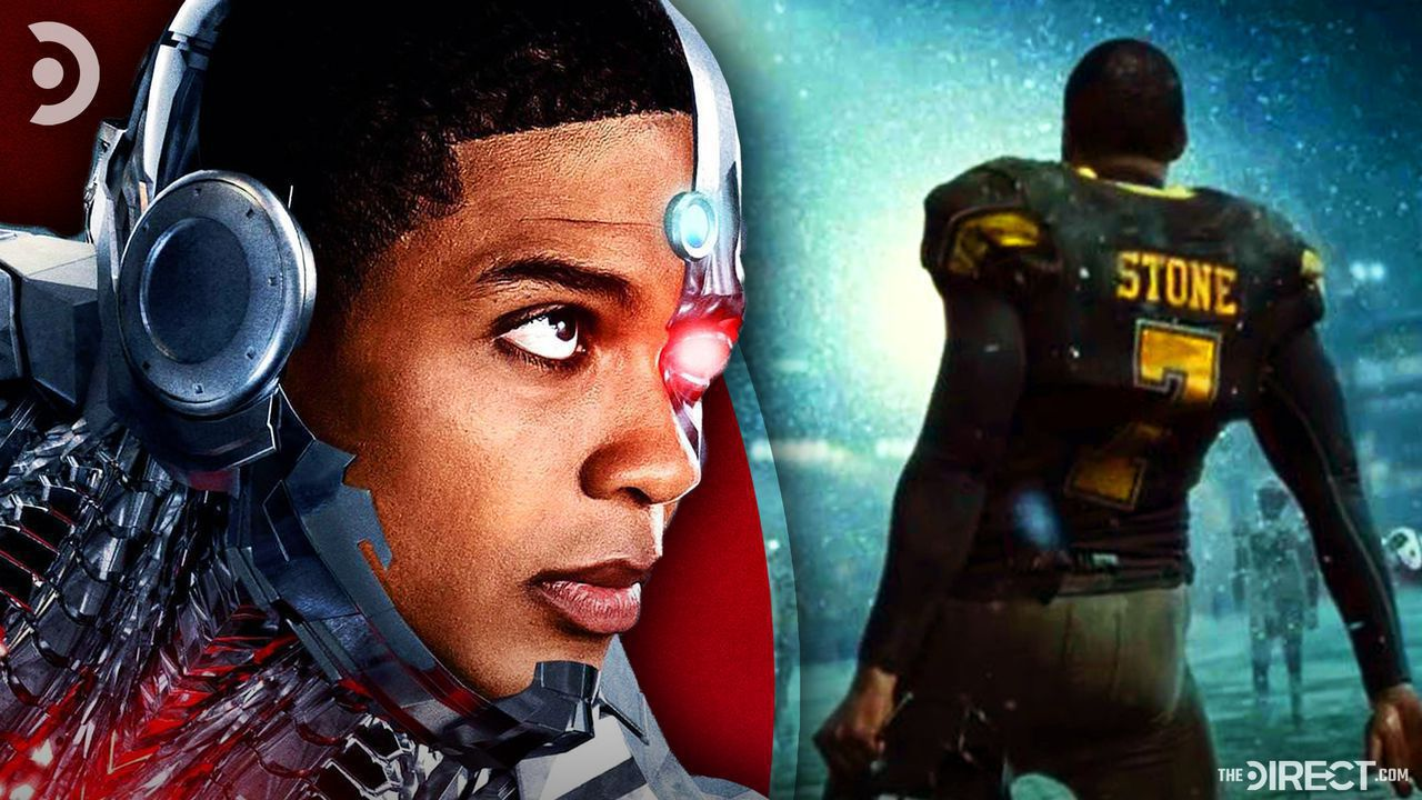 Ray Fisher as Cyborg, Victor Stone as a star football player