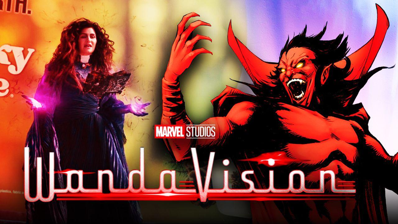 Agnes Demon WandaVision logo
