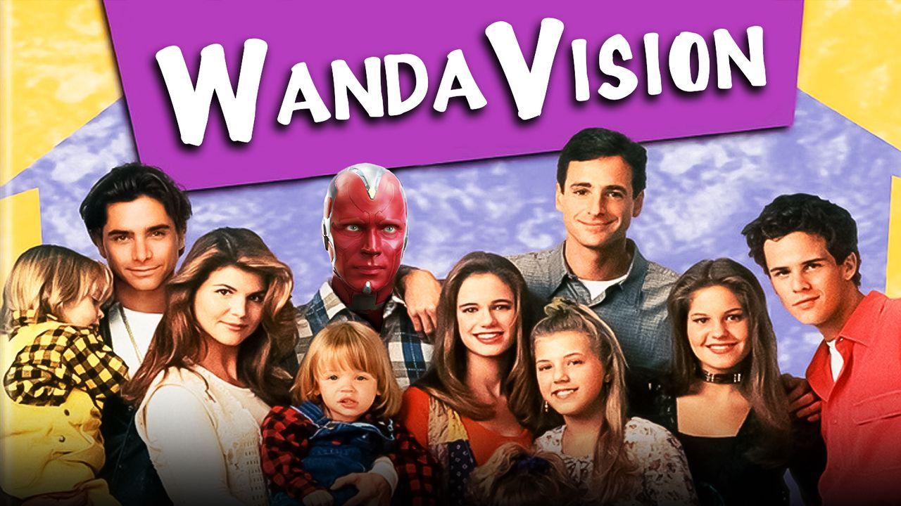 WandaVision Full House poster