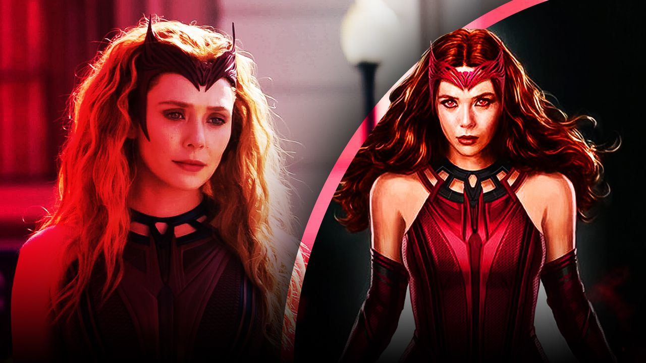 The Scarlet Witch Wanda Concept Art