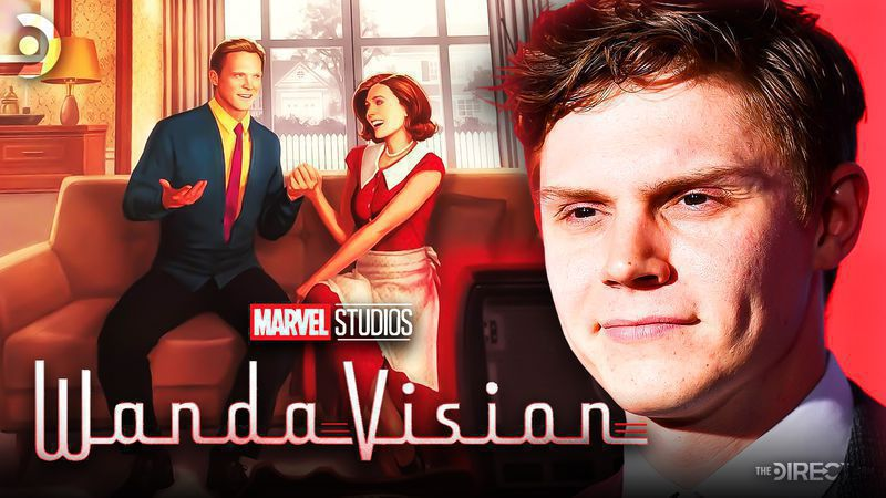 WandaVision Concept Art and Evan Peters