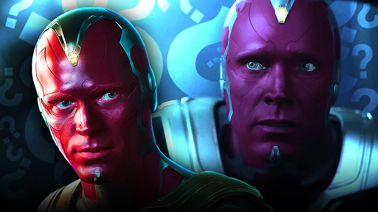 MCU Vision, Vision, Question marks
