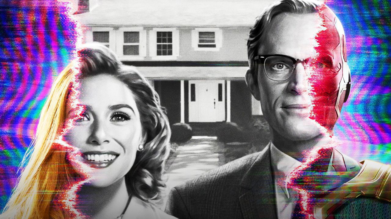WandaVision: First Poster Featuring Paul Bettany & Elizabeth Olsen Released