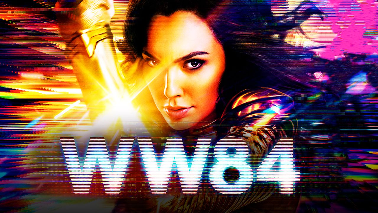 Wonder Woman 1984 logo, Gal Gadot as Wonder Woman