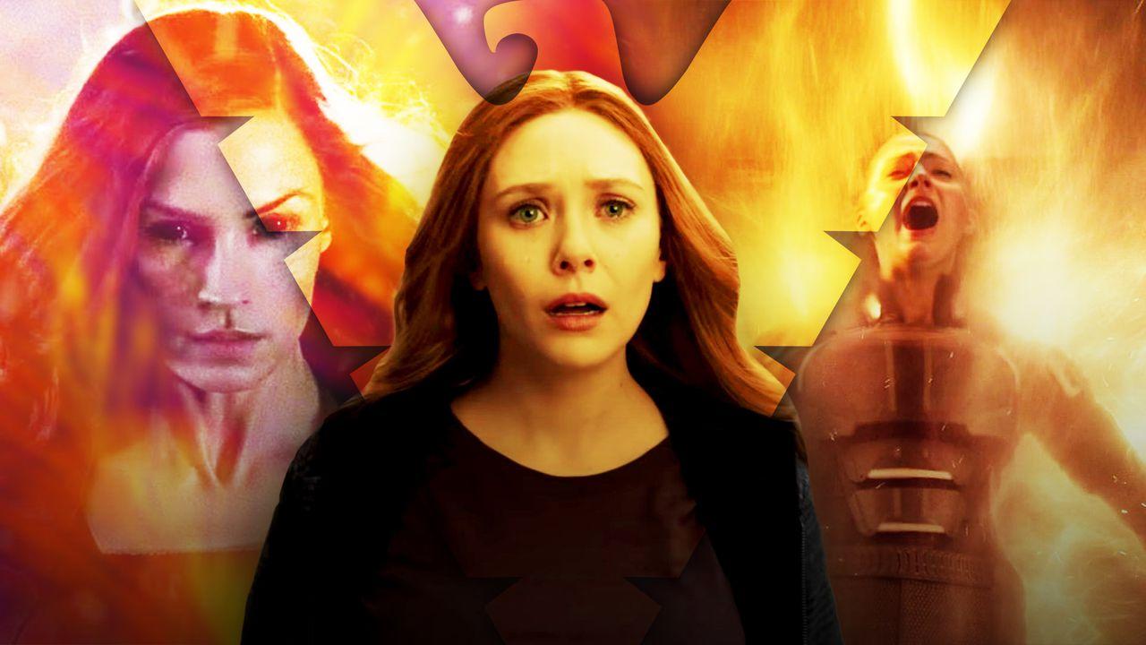 Scarlet Witch Jean Grey WandaVision