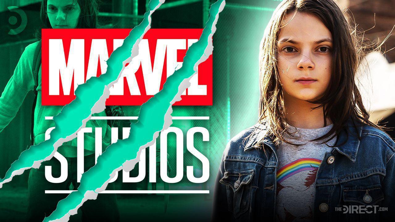 Dafne Keener as X-23, Marvel Studios logo