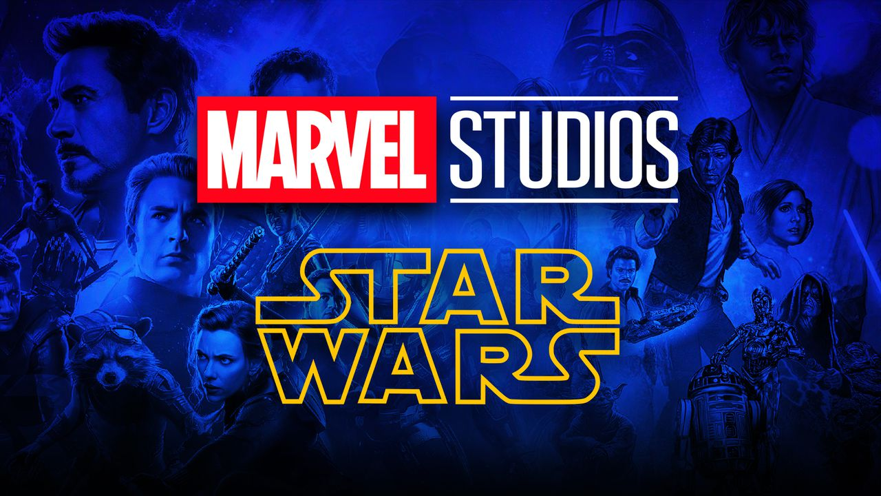 Disney Logo Marvel Star Wars