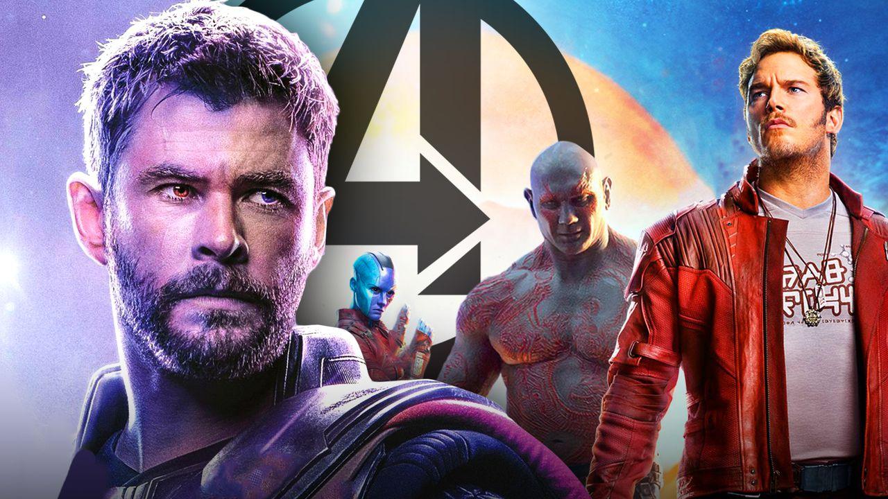 Thor, Nebula, Drax, Star-Lord