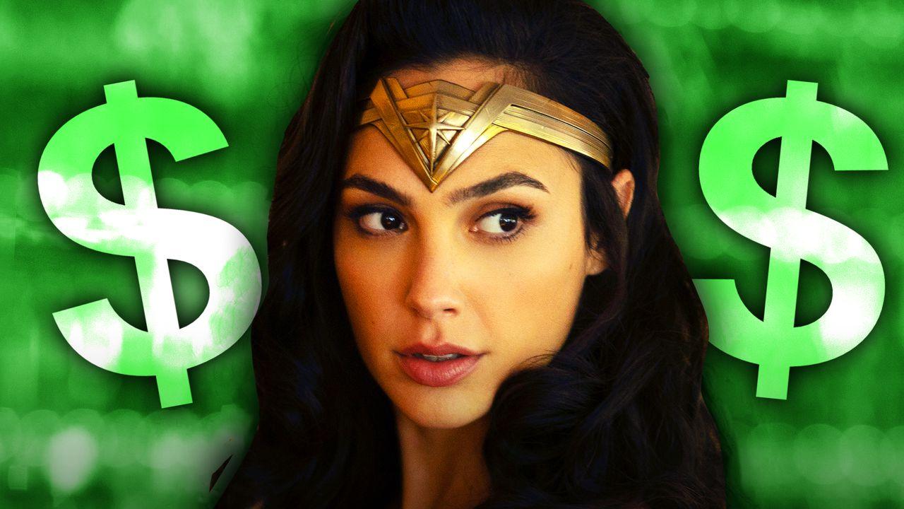 Gal Gadot as Wonder Woman, Money Signs