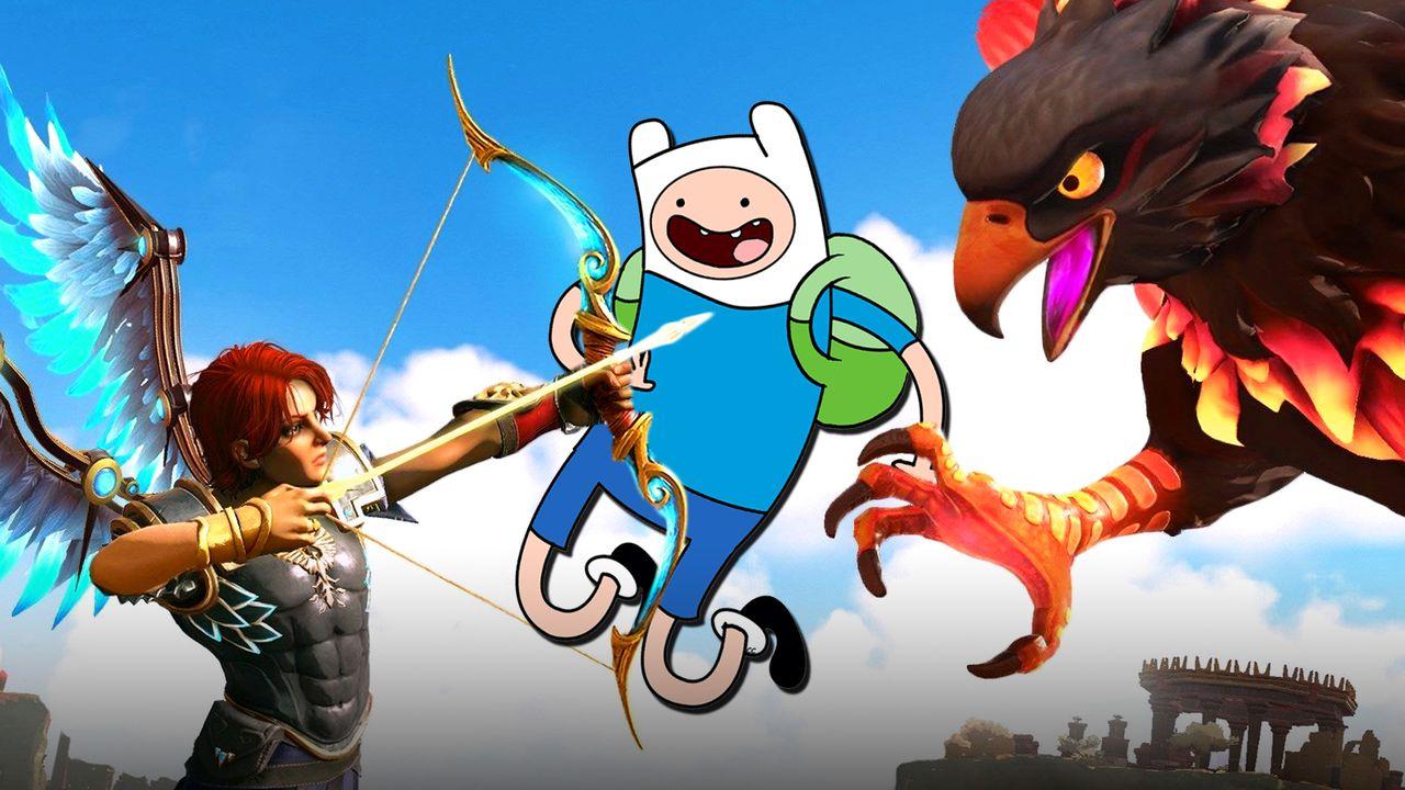 Adventure Time Immortals Fenyx Rising DLC Thumbnail