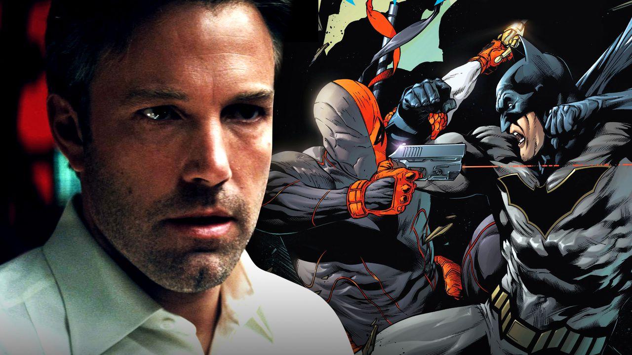 Ben Affleck's Bruce Wayne< Deathstroke, Batman