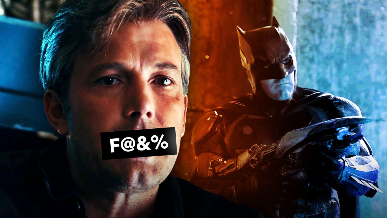 Ben Affleck Censored, Batman