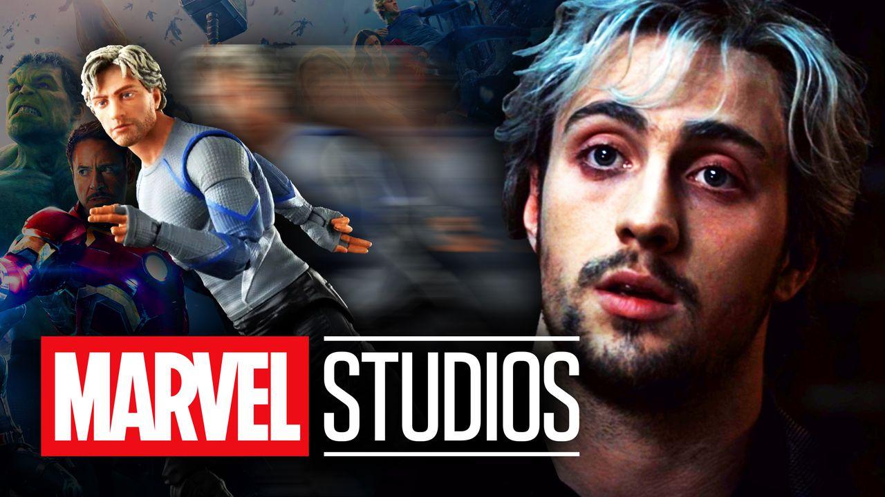 Quicksilver Marvel Studios logo