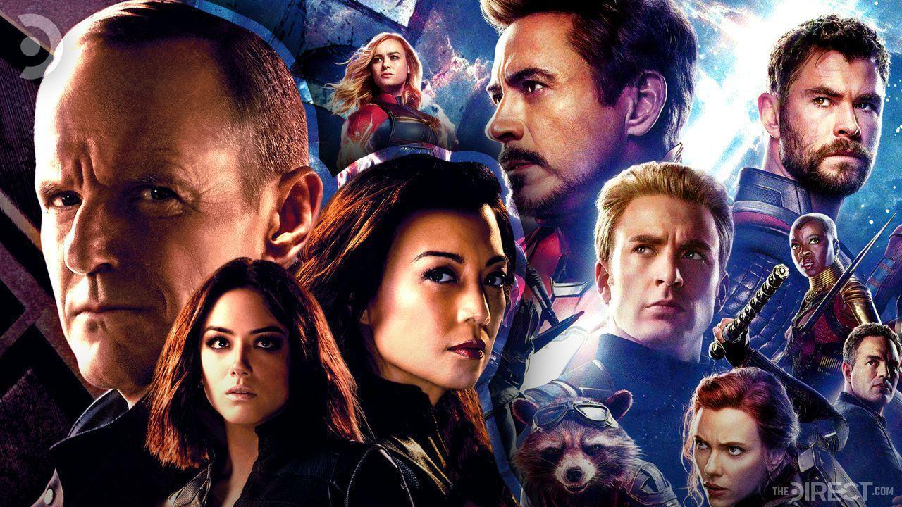 Agent Coulson, Quake, Avengers: Endgame poster
