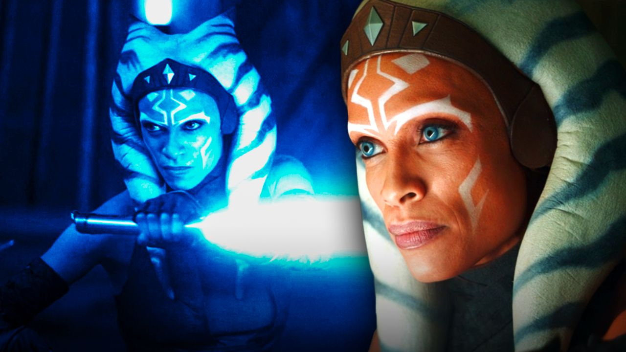 Rosario Dawson as Ahsoka from The Mandalorian