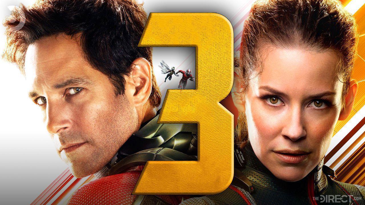Ant-Man 3 Logo, Paul Rudd, Evangeline Lily