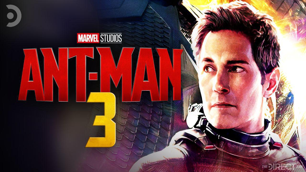 Paul Rudd as Ant-Man, Ant-Man 3 Logo