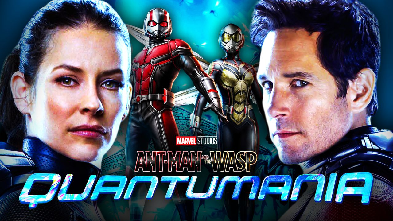 Ant-Man Evangeline Lilly Paul Rudd