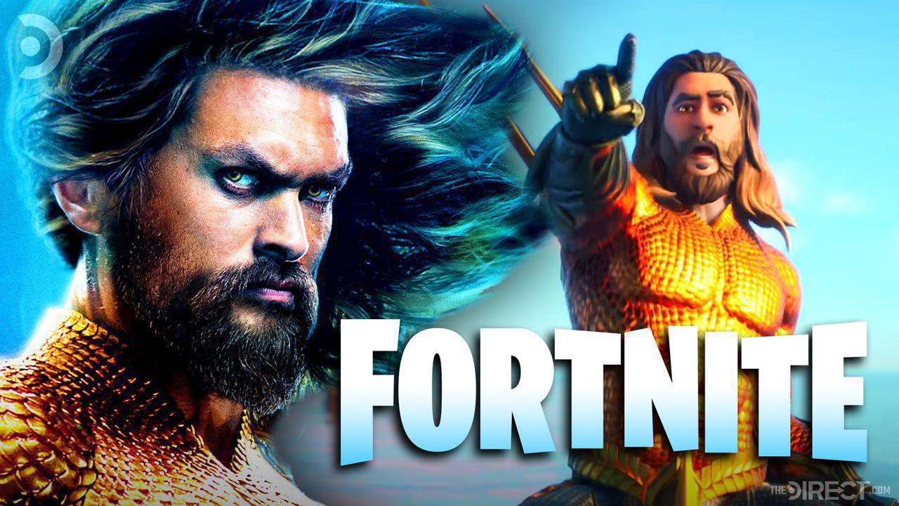 Jason Momoa's Aquaman arrives in Fortnite: Chapter 2 Season 3 Splashdown trailer