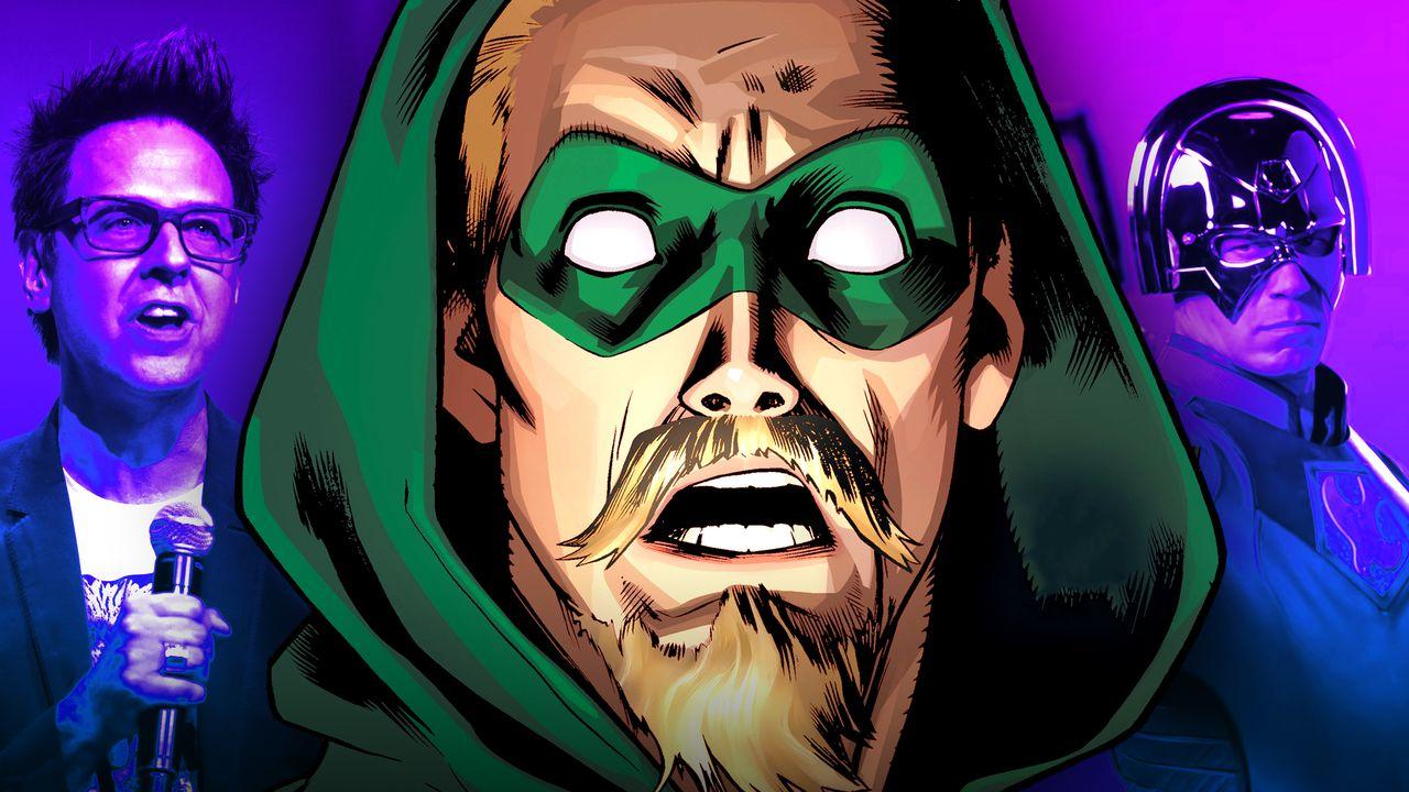 James Gunn, Green Arrow, Peacemaker