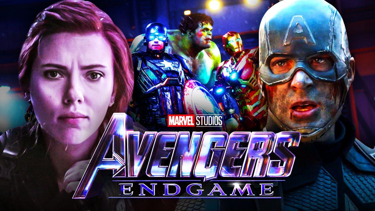 Black Widow Captain America Avengers Endgame