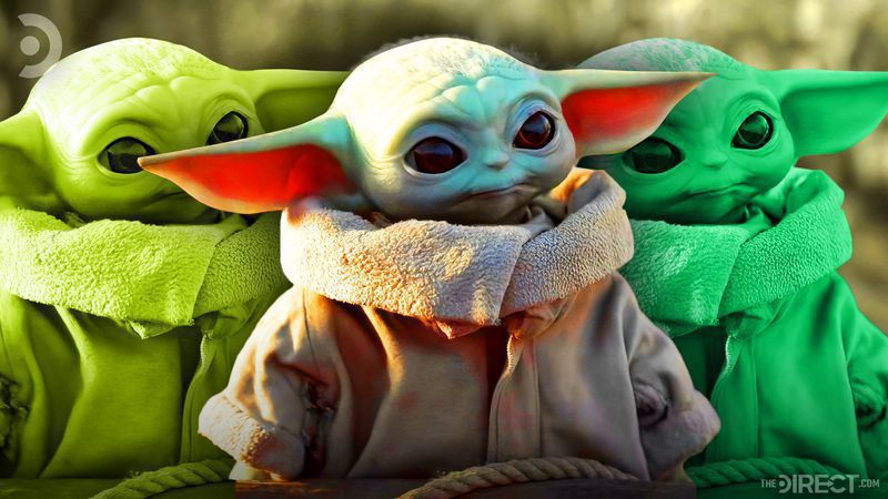 baby yoda and the mandalorian surpass darth vader as the most popular star wars character