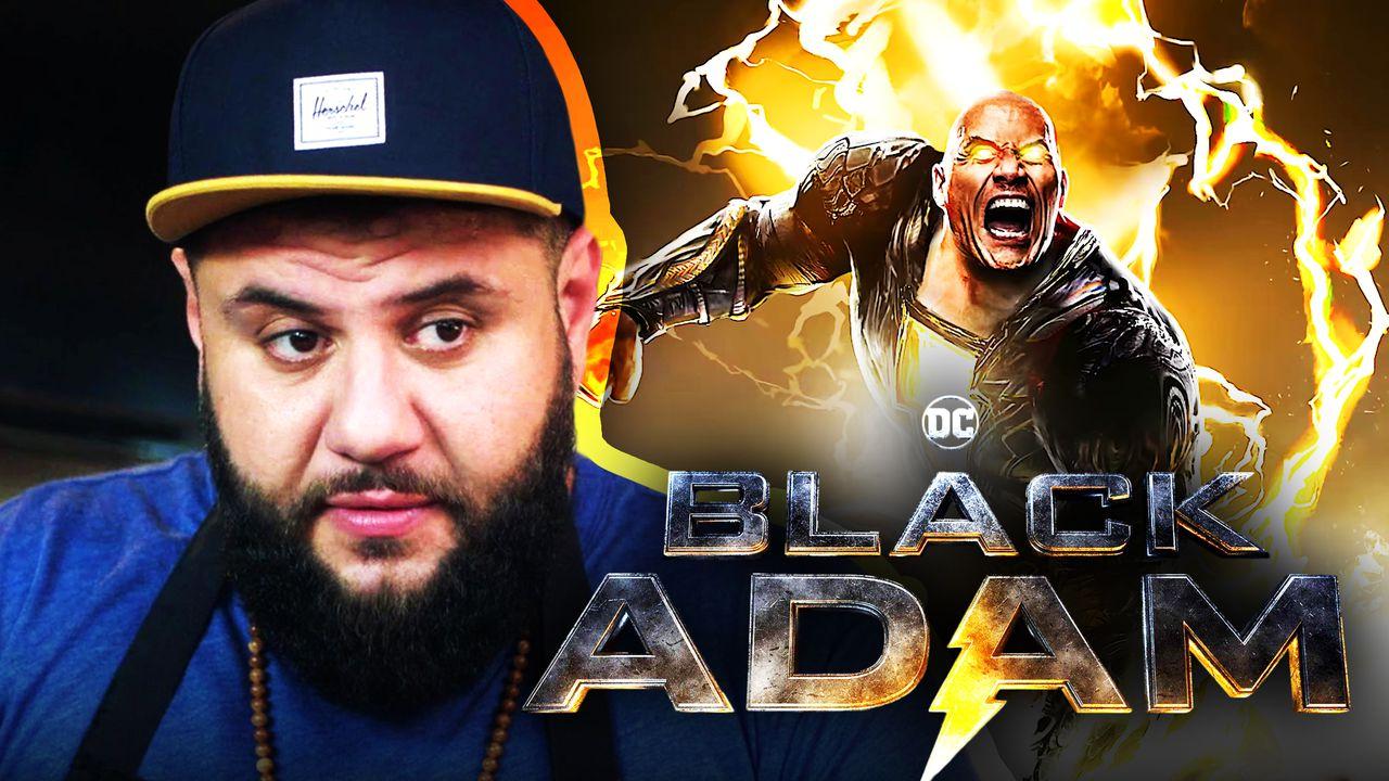 Black Adam Dwayne Johnson Mo Amer