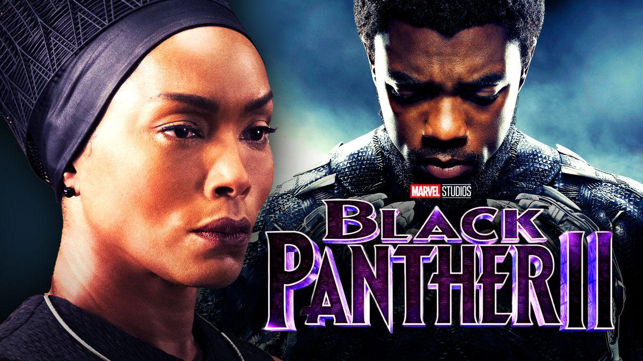 Angela Bassett, Chadwick Boseman, Black Panther 2