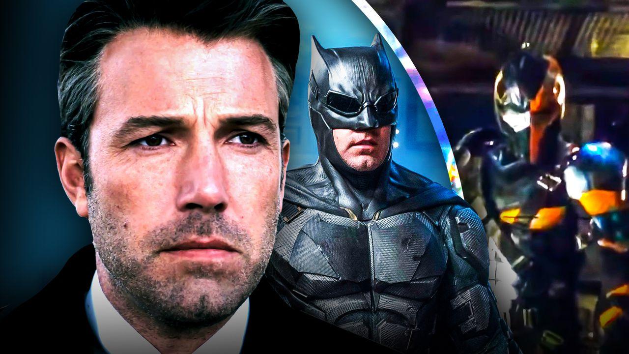 How Batman Star Ben Affleck Leaked That Deathstroke Test Footage